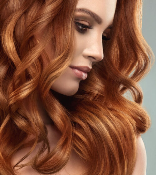 موهای رنگ شده و مراقبت از آن