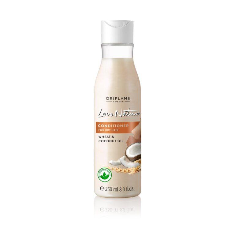نرم کننده گندم و نارگیل لاونیچر مناسب موهای خشک و آسیب دیده